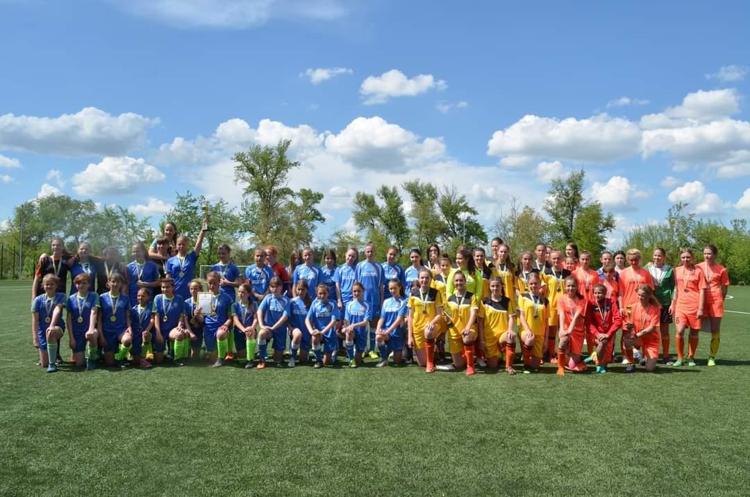 Підсумки чемпіонату Херсонської області з футболу серед команд дівчат WU-17 2004-2006 років народження сезону 2020/2021