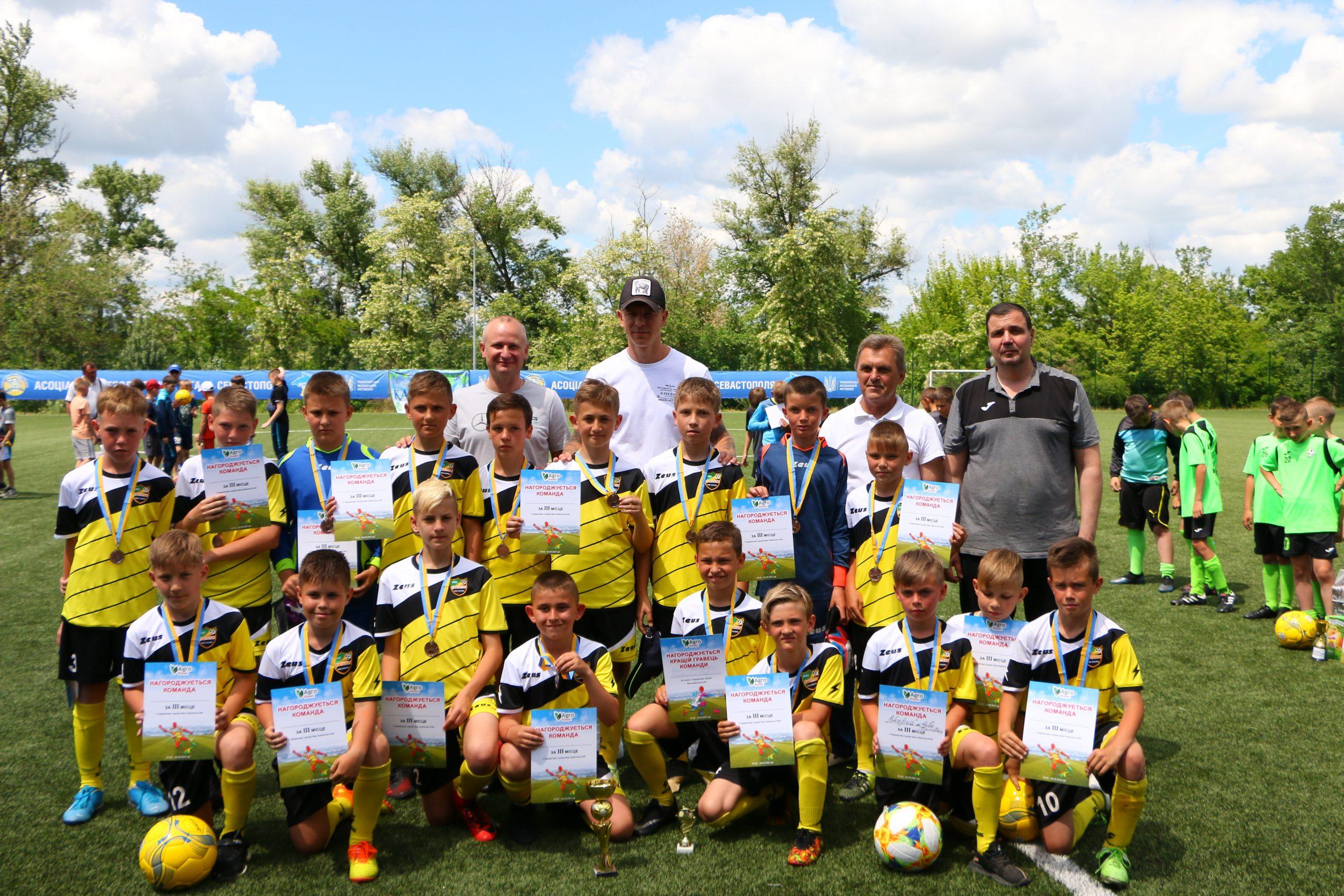 У Новій Каховці визначили переможців відкритого турніру з футболу «Nova Kahovka cup»