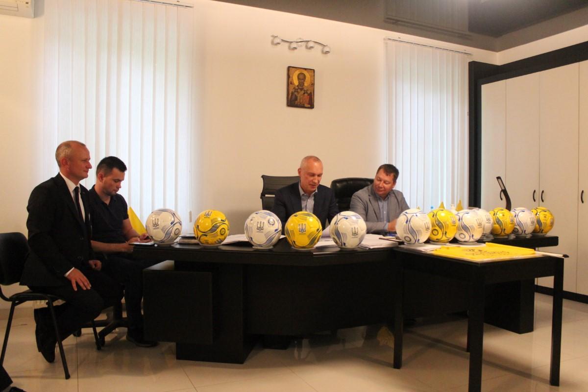 Відбулось засідання Виконавчого комітету Херсонської обласної асоціації футболу