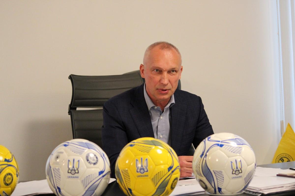 Перший віце-президент Української асоціації футболу Олег Протасов завітав на Херсонщину