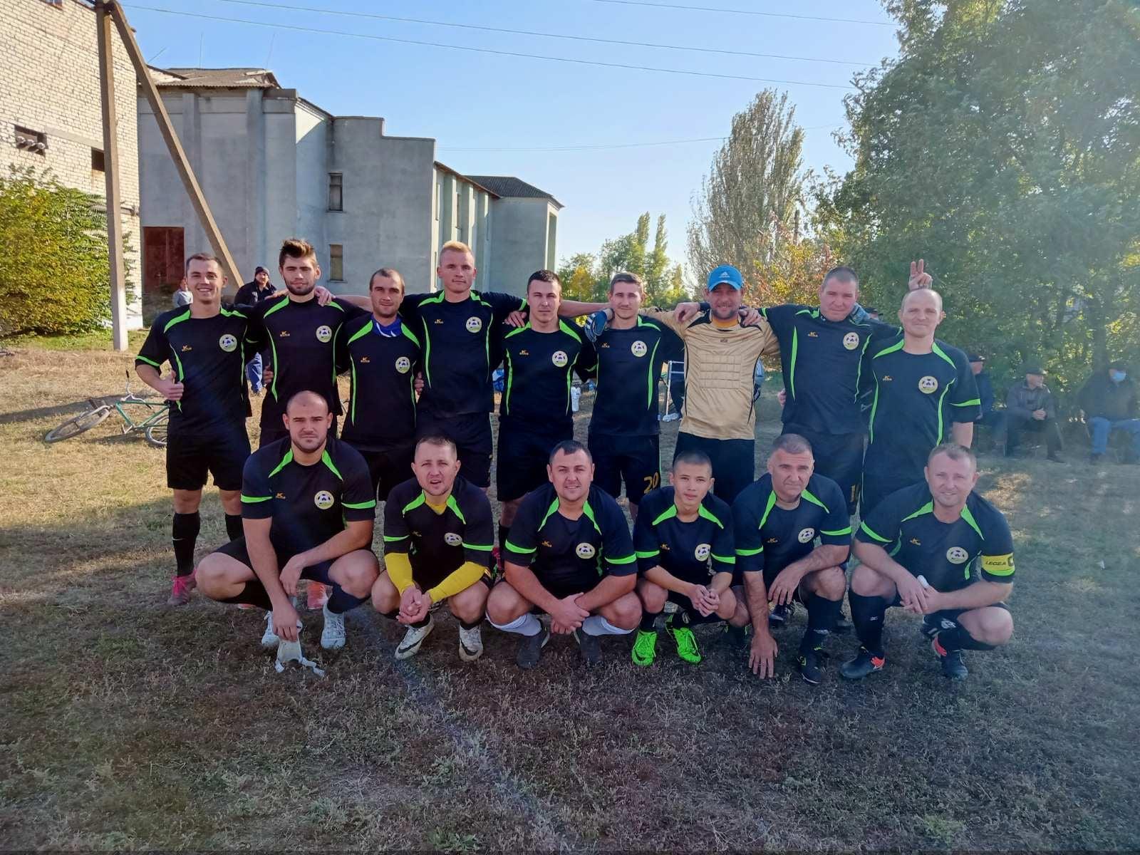 Білозерська футбольна ліга:  ПЕРЕМОЖЕЦЬ ПЕРШОЇ ЛІГИ ВЖЕ ВІДОМИЙ